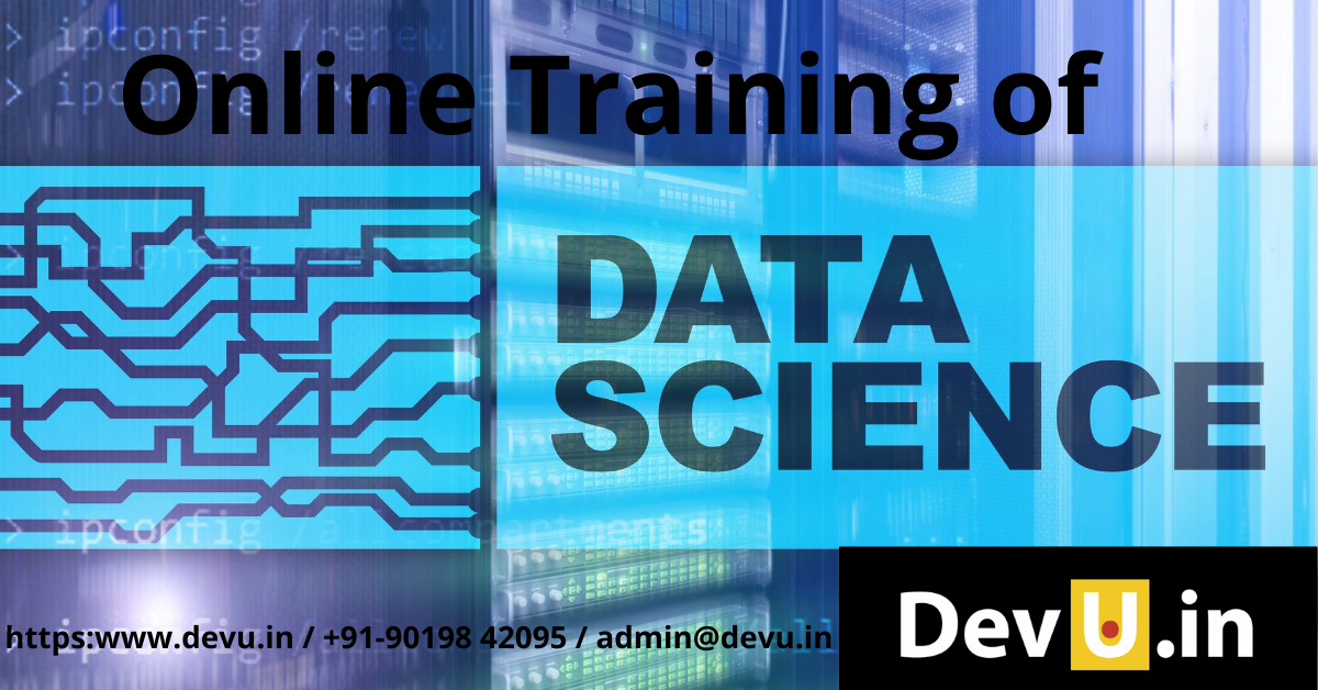 Online Training of Data Science